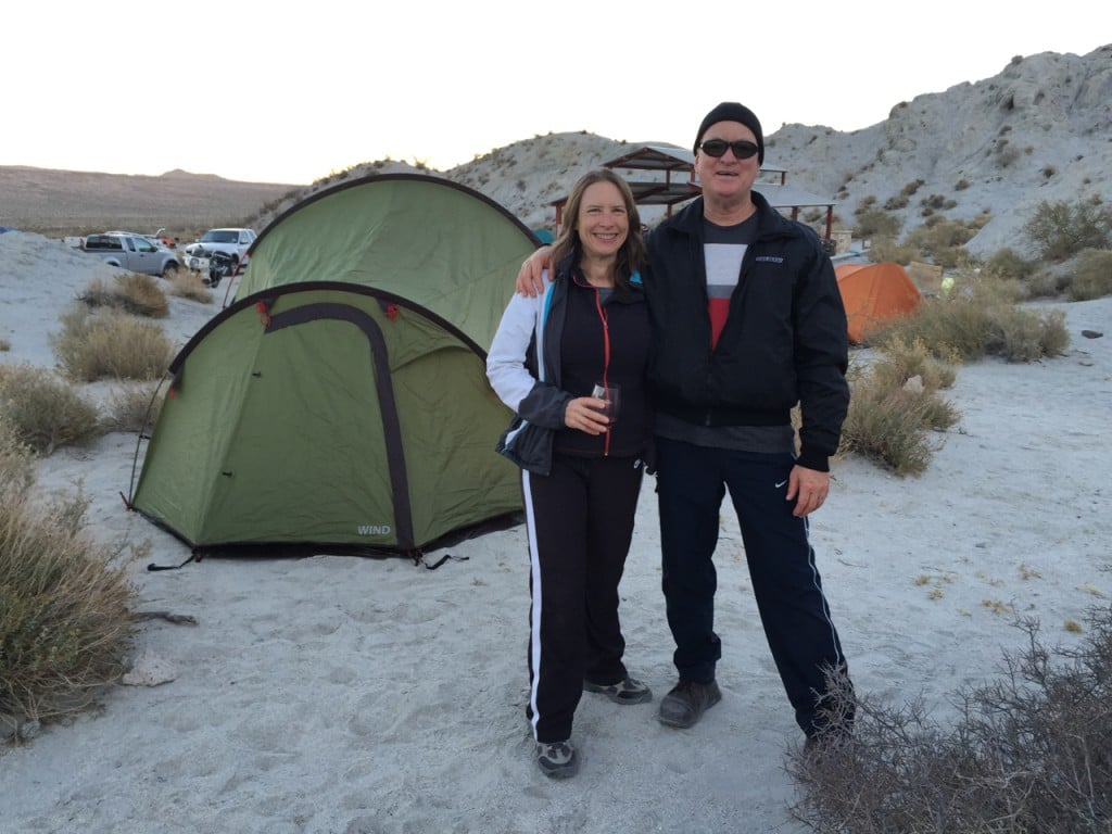 Camping for New Year's Eve 2015