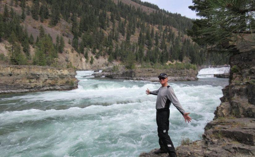 Sept '18 Road Trip: 5) Kootenai Falls, MT